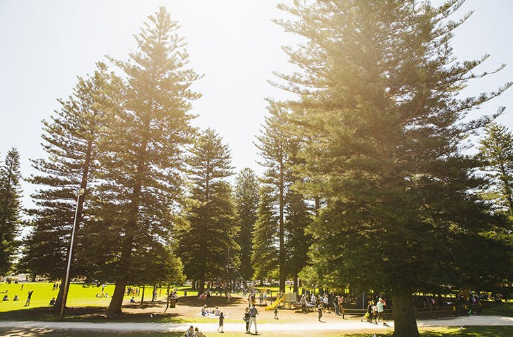 best parks perth