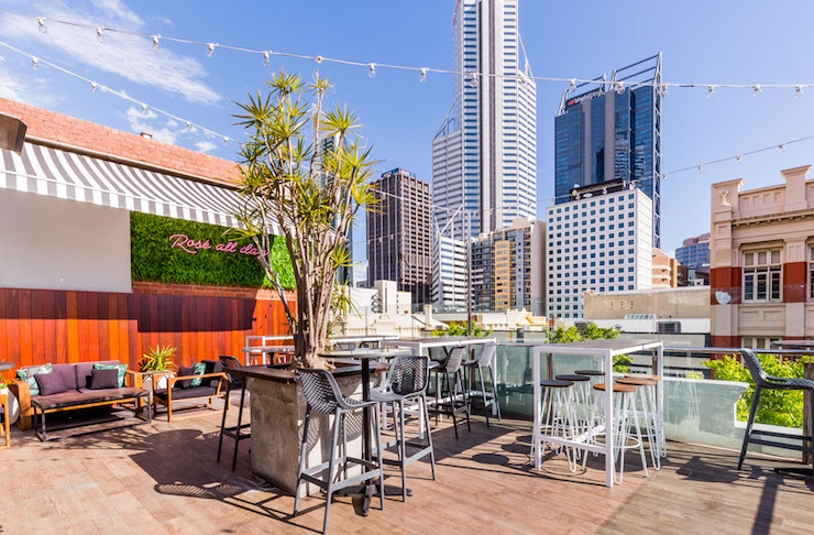 Things To Do Perth Rooftop Bar