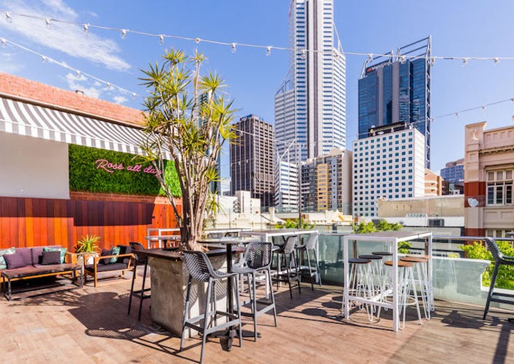 Soak Up Some Sunshine At Perth's Best Rooftop Bars