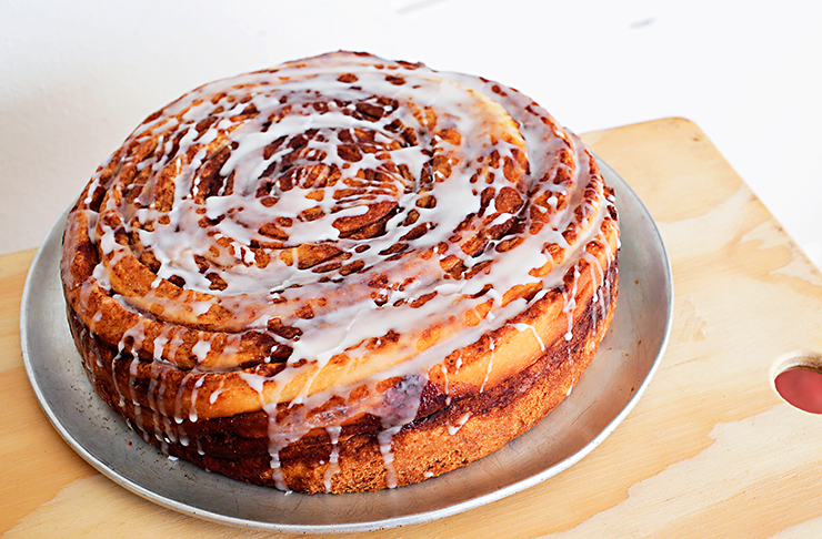 Best Places To Carb Load Perth, Cinnamon Scroll Cake Perth