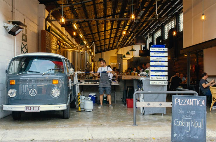 Pizzantica Brisbane's Best Food Trucks