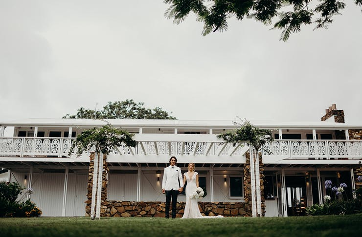 Plantation House By Fins Gold Coast Wedding Venue