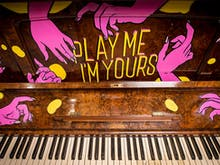 Art-Covered Pianos Are Popping Up Around Brisbane This Month