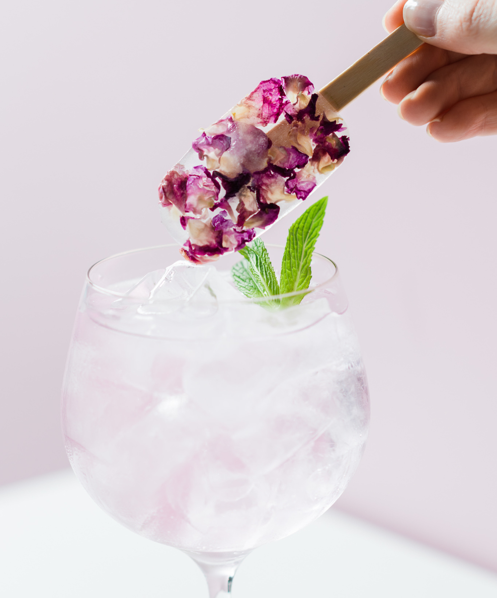 The Petal Power G&T and poptail
