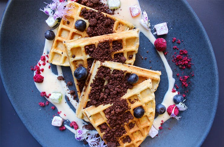 where to find the best waffles in auckland, best breakfast in Auckland