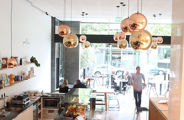 New opening pollen cafe, auckland city