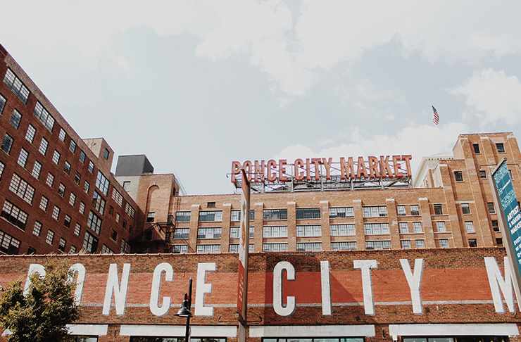 Ponce City Market Atlanta Georgia