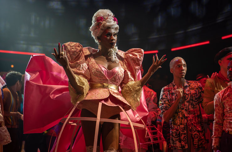 Dominique Jackson as Elektra in FX's groundbreaking show, Pose