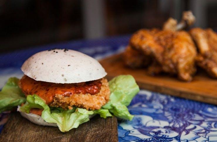 Bao Burger Sydney yum cha