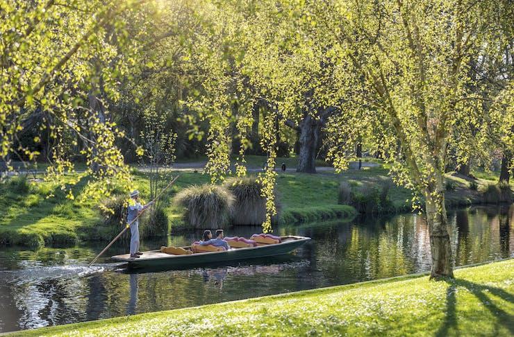 Punting on the river Avon, Graeme Murray