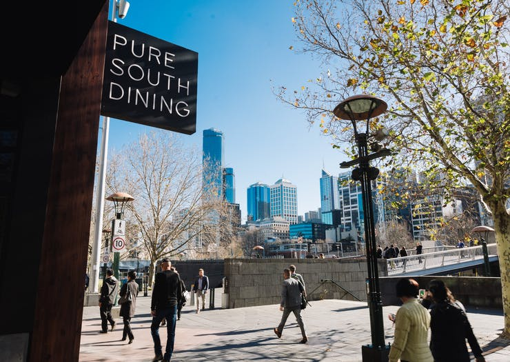 first date ideas Melbourne, southgate, best restaurants southgate