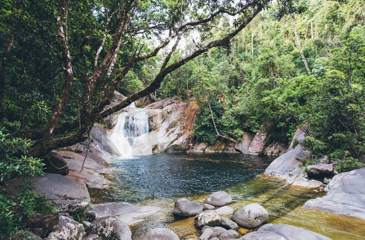 queensland waterfalls