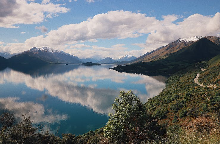 View over stunning lake Wakatipu, Most romantic things to do in Queenstown