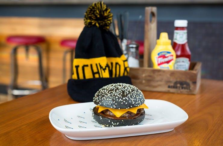 Melbourne, Your AFL Finals Themed Burgers Have Finally Arrived