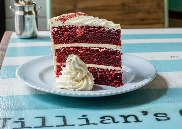 Red Velvet Cake Sunshine Coast