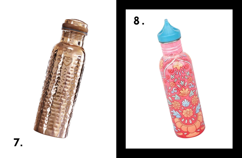 10 Re-Useable Water Bottles To Make You As Cool As Your Beverage