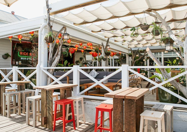 Cancel Your Weekend Plans, Rice Boi's New Waterfront Beer Garden Just Opened