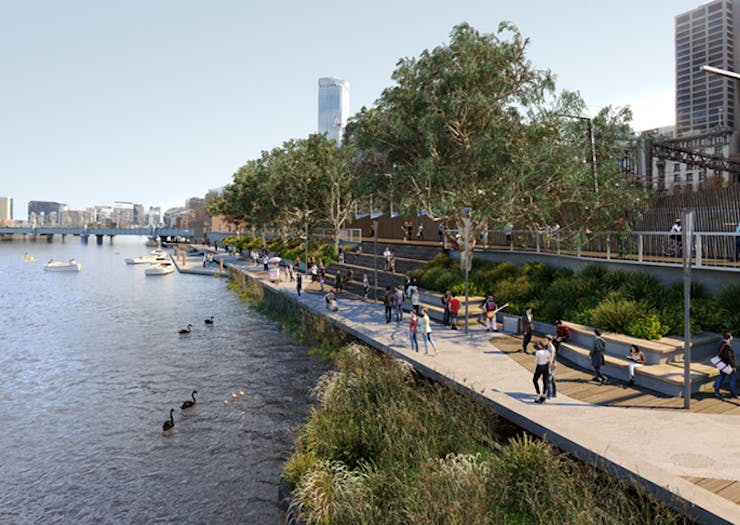 A Plant-Heavy Oasis Is Set To Open At The Top End Of Southbank