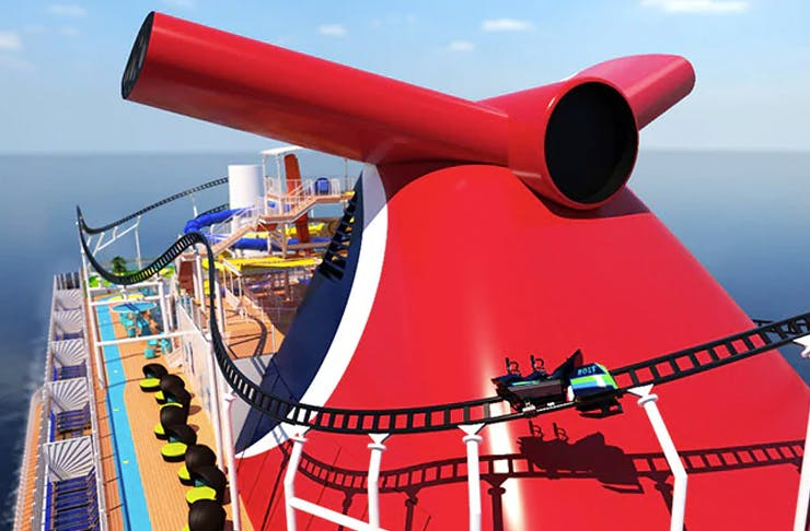 The World's First Rollercoaster Cruise Ship Is Coming In 2020