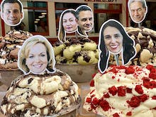 Cookie Crusher Collins VS Jacinda Fever, Cast Your Vote At This Epic Christchurch Gelato Store