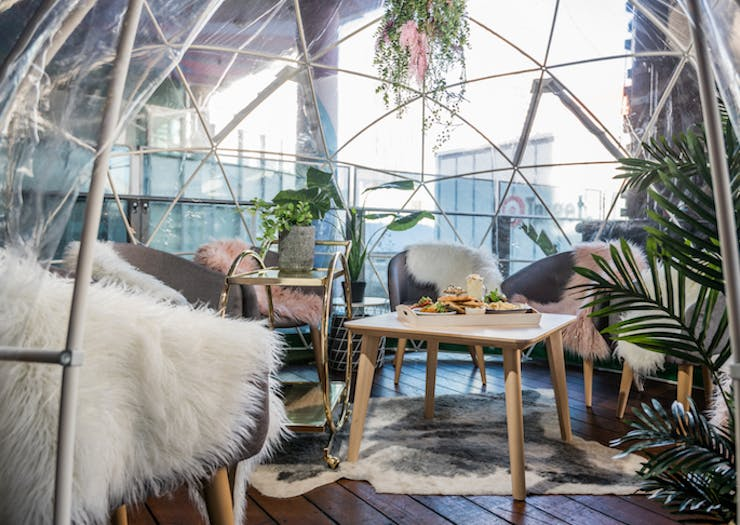There's A Rooftop Igloo At The Aviary And We're Not Even Kidding