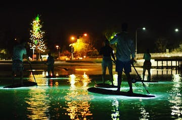 Find Your Balance At Burleigh Waters' New Glow-In-The-Dark SUP Tours