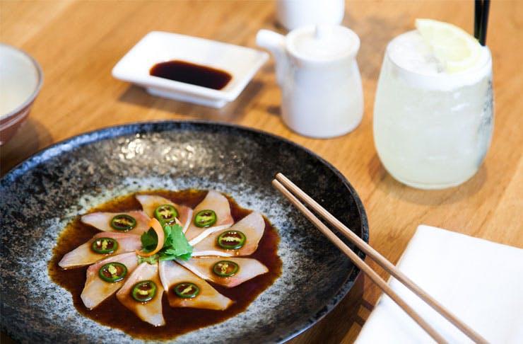 best long lunch Brisbane, Sake