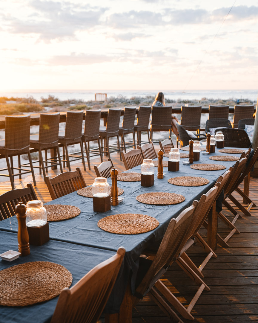 Sal Salis dining area