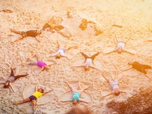 Help Make History At The Coast's Sand Angel-Making World Record Attempt