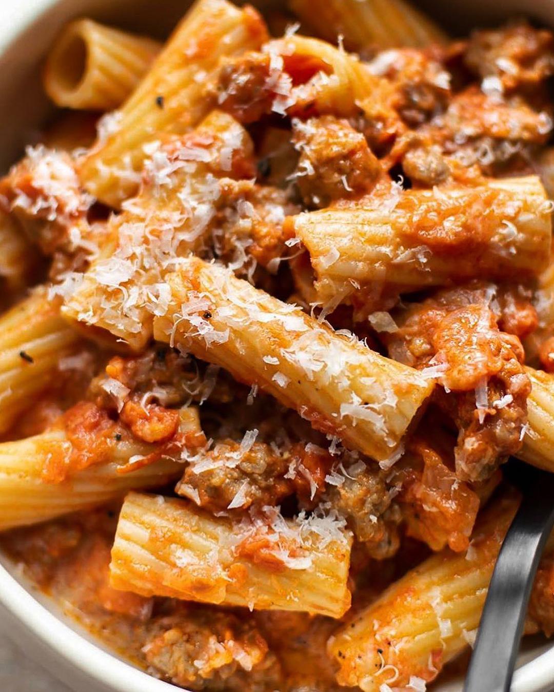 Vegan Pasta at Sazio