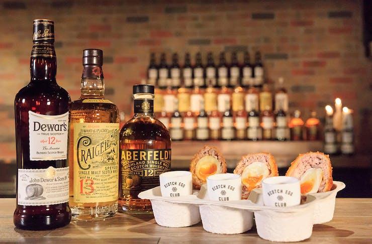 scotch egg club whisky the scottish prince