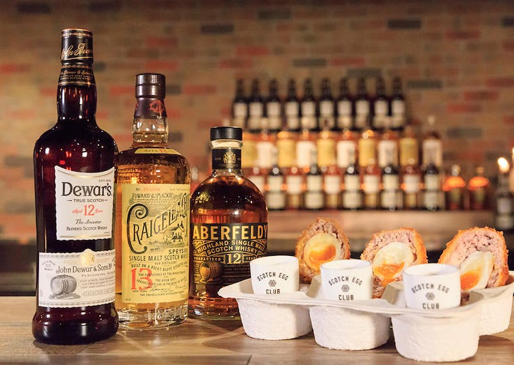 A Whisky & Scotch Egg Club Pop-Up Is Happening This Month