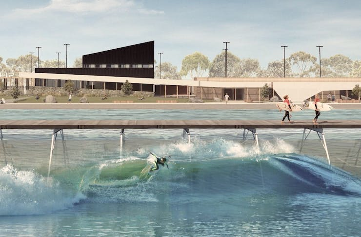 melbourne outdoor wave pool