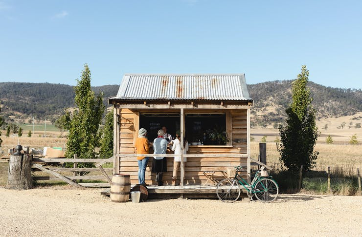 Shene Estate Distillery Tasmania.