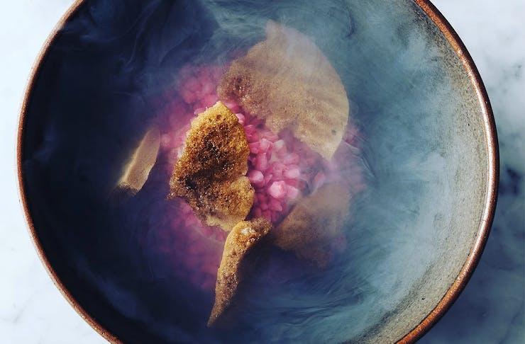 A beautiful looking dish at Sidart.
