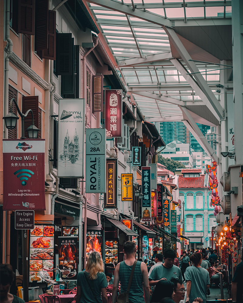 Solo Travel Singapore Hawkers' Markets