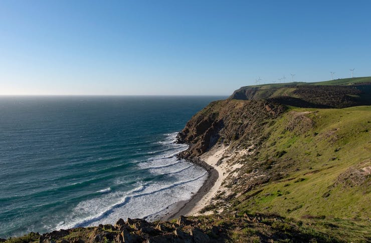 Coastline in South Australia