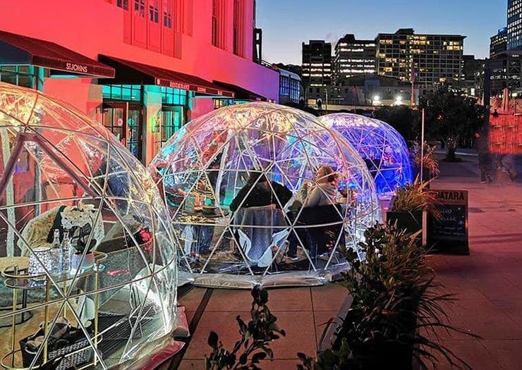 Dine Under The Stars In These Epic Igloos That Have Just Popped Up In Central Wellington