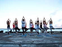 Rise And Shine! Sunrise Yoga Is Hitting Auckland's Waterfront