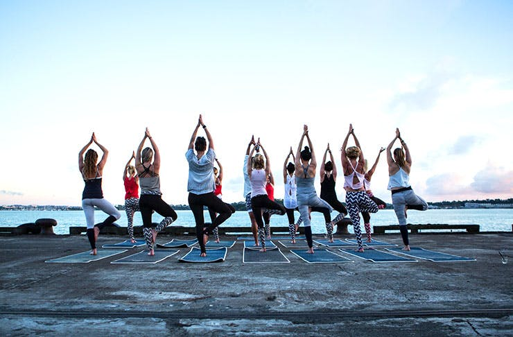 Sunrise Yoga Is Back For Another Year!