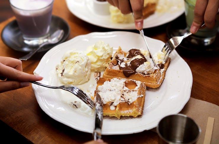 waffles from Superstar Waffles