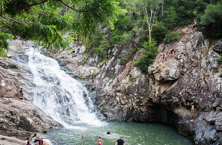 gold coast swimming holes