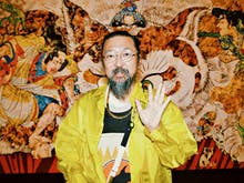 """Takashi Murakami Created A """"Stupid Cat Painting"""" For Sydney And It Is Epic"""
