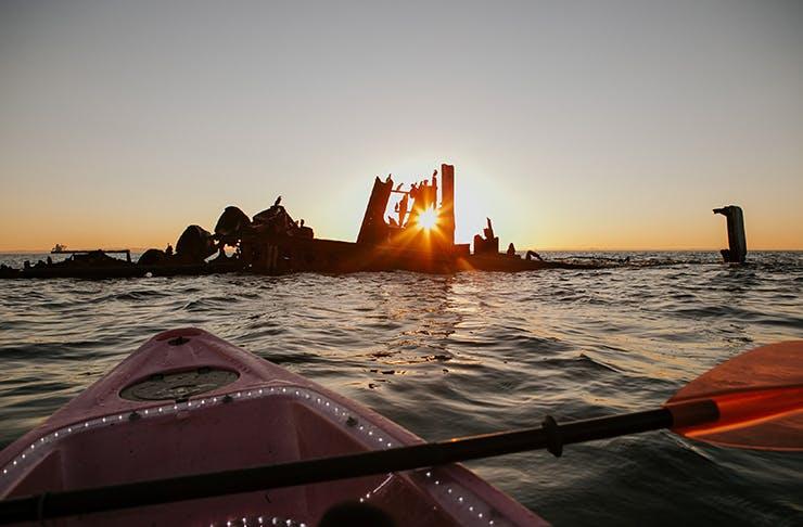 Night Kayak Tour moreton