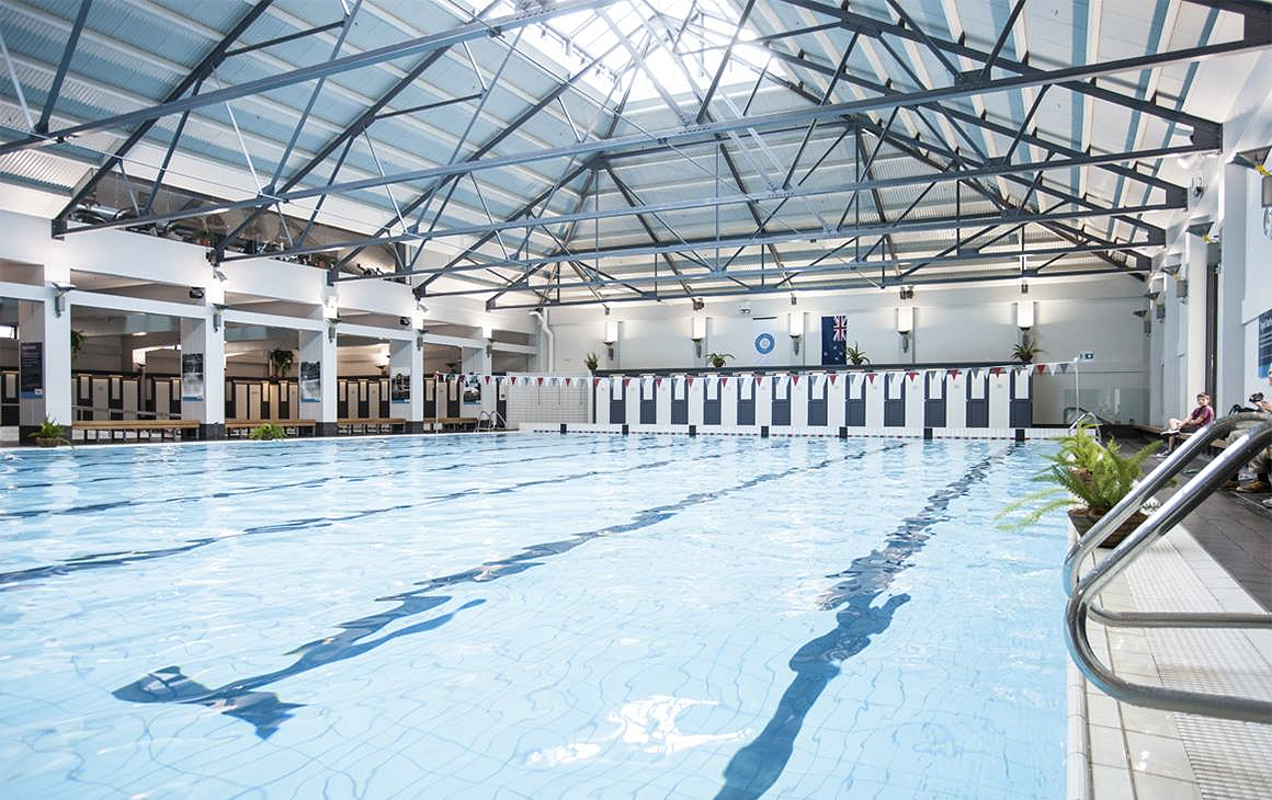 The beautiful Tepid Baths right in the centre of town is one of the best indoor pools in town.