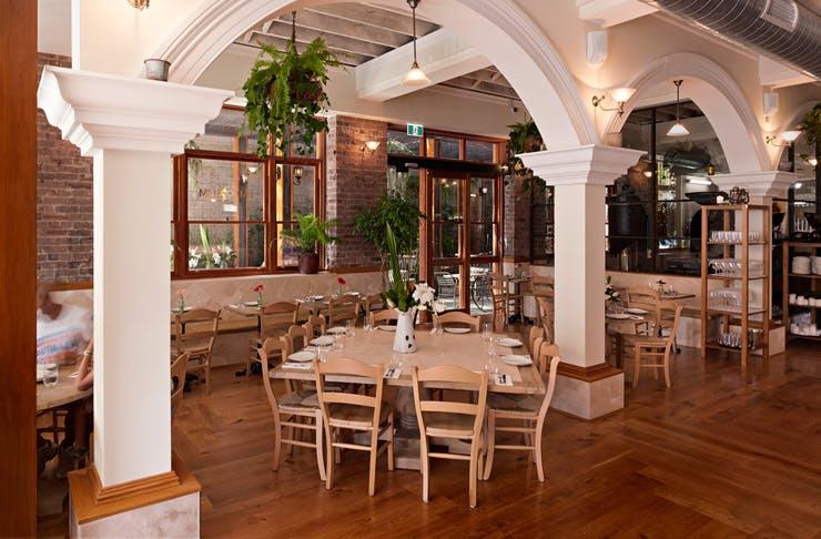 The Emporium restaurant in Parramatta