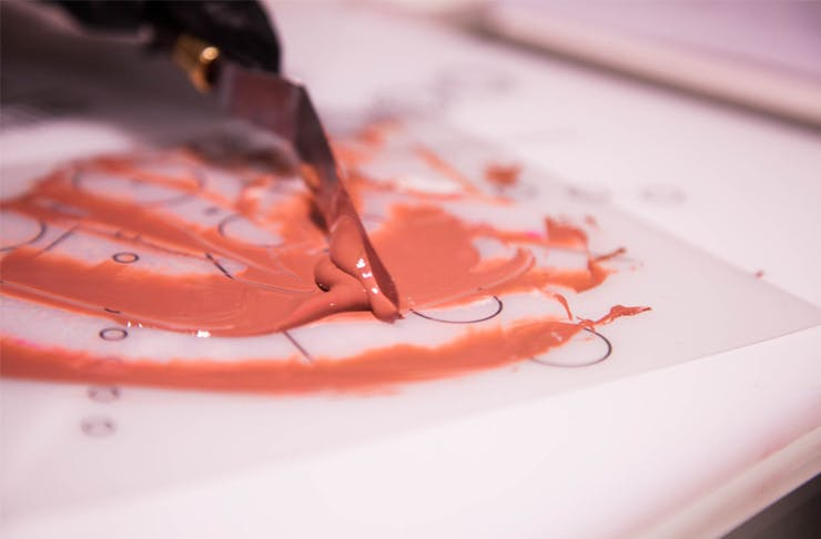 The Lip Lab Custom lipsticks