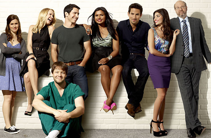 The cast of The Mindy Project