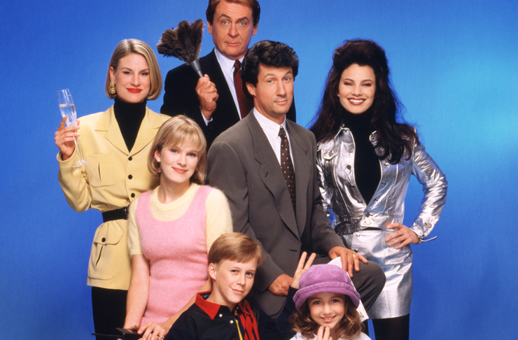 The cast of the Nanny