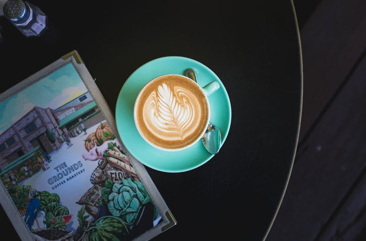 Sydney's best soy coffee